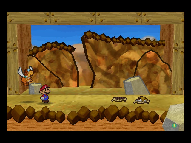 Paper Mario - Battle  - Umm...I think you should go now - User Screenshot